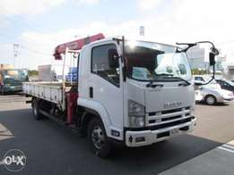 Isuzu Forward Crane Truck / Lorry