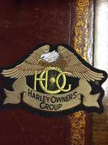 HOG large Harley Patch