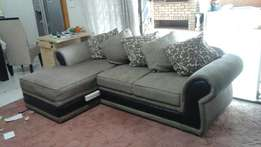 L shape couch with 5 cushions R5000