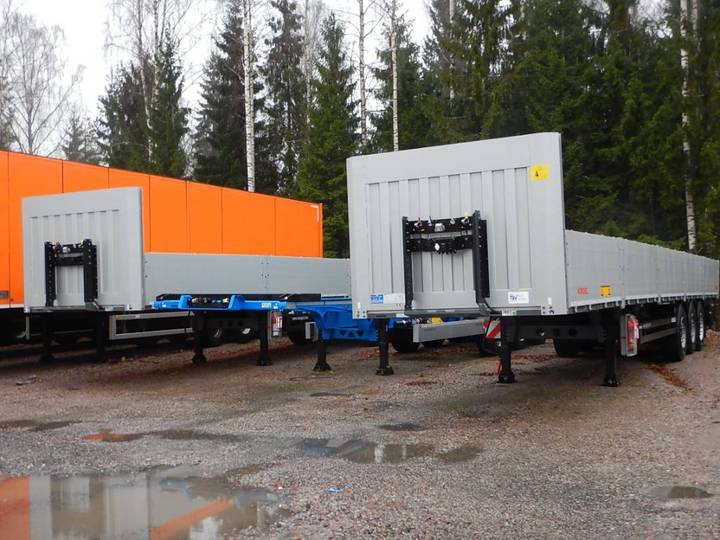 Koegel Multi Avopuoliperävaunu, Tolppataskulla - 2018