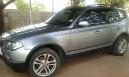 For Sale Bmw X3 2008 Model Manual 204985Km Still in a Good Condition