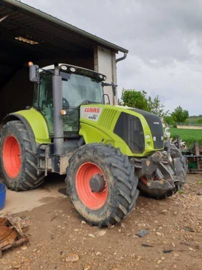Claas axion 810 cis - 2012