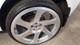 """18 inch 3SDM to SWOP for 17"""" dished wheels (5x100 pcd)"""