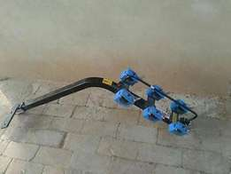 Geof 3 bike rack with towbar coupling - Top condition