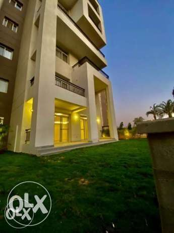 Apartment for rent ground in garden in Cairo Festival
