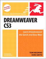 Dreamweaver CS3: Visual QuickStart Guide