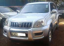 2005 Toyota L/C Prado GX, manual 2.7L VVT-i petrol, local spec