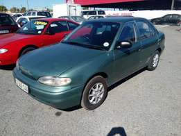 Hyundai Accent 1.3 1997 on month end special sale R35000
