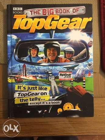 Football books and BBC Top gear