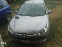 almost tokunbo peugeot 206 with chilling ac and first body.