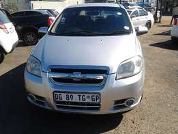 Chevrolet Aveo LT 1.6 Colour Silver Model 2009 5 Door Factory A/C&CD