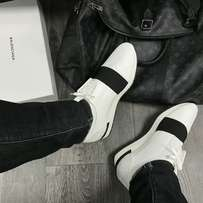 Balenciaga Runner Sneakers White and black