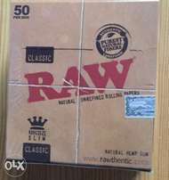 Raw classic rolling papers (rizla)