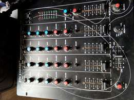 Rocksonic 4 channel mixer