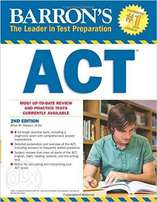SAT and ACT books