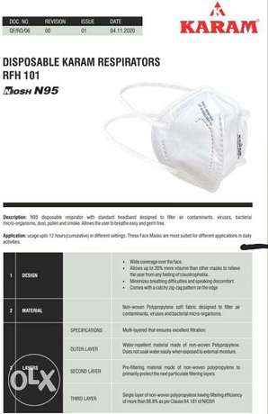 N95 Mask Made in INDIA