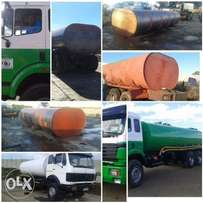 We manufacture water tankers with full hydraulic installation