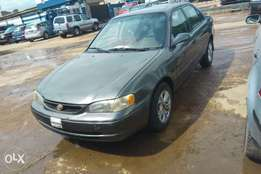 Registered Toyota corolla for sale or swap wit nice car
