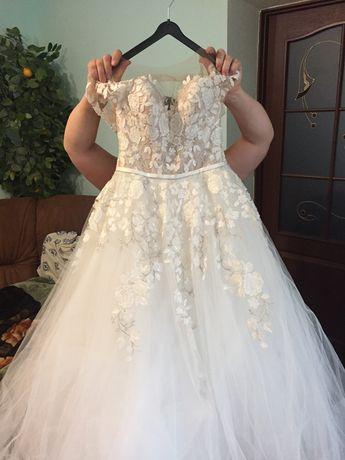 7aac11d8b66d42 Продам весільне плаття або можливий прокат Івано-Франківськ - зображення 6