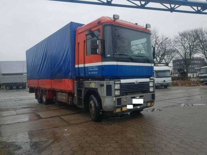 Renault 385.420.Pritcheplane 6x2.Manual.Steel Air - 1995