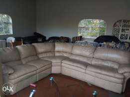 sofa bed futon leather seat