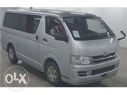 Toyota Hiace 2009 Automatic, Diesel Asking Price 2,400,000/=o.n.o