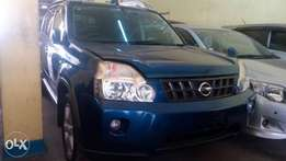 Nissan xtrail with roof rail