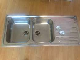 Drop In Stainless Steel Double Kitchen Sink