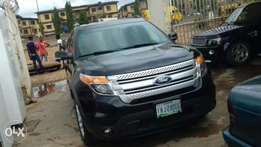 Registered 2014 model Ford explorer