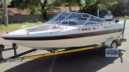 Sensation 17ft with 120hp Mercury Force Motor