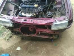 Opel astra stripped for parts