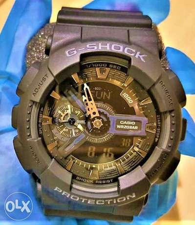 New Original Casio Professional G-Shock watch (black) الرياض -  2
