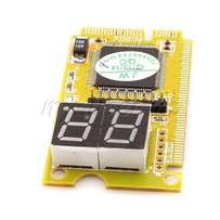 Laptop Notebook 2-Digit Analyzer diagnosis test card PCI-E LPC