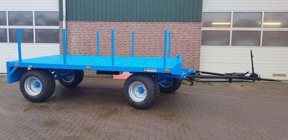 Trailer New Agomac Schamelbakkenwagen Timber