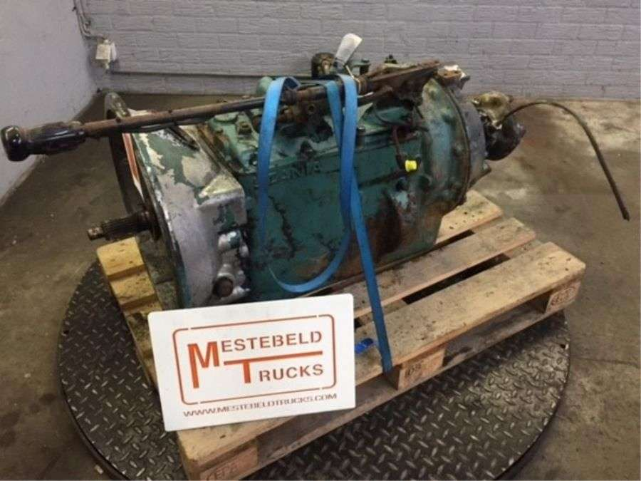 Scania Gr 871 Gearbox For Torpedo Truck 1986