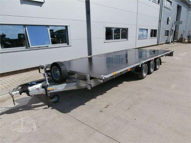 Ifor Williams LM 208 trzyosiowa - (Tri axle) - 2018