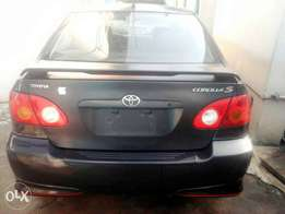 Clean tokunbo 2003 corolla sport accident free Lagos cleared