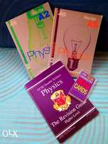 "Books ""Letts"" Revise A2 AS Physics /The ""Letts""GCSE Physics / Chemistr"