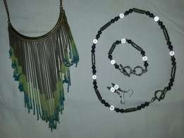 Ladies Jewellery - R150 for two sets!