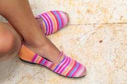 Ankara flat shoes , wholesale only