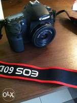 Canon 60D with 40mm Lens
