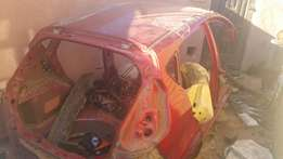 FORD FIESTA NEW shape SKELETON with complete shell