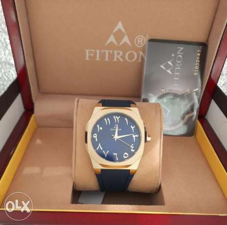 fitron mens watches