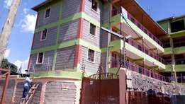 Two bedroom apartments for rent in Lower Kabete at Kshs 18000 p.m