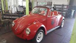 Vw beetle up for grabs R19.900