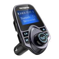 Bluetooth FM Transmitter Radio Adapter Car Kit With 5V USB Car Charger