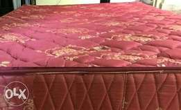 Heavy duty five by six feet unused bonded foam matress 7 inches thickn