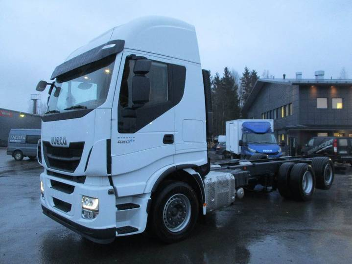 Iveco Stralis As260s48 6x2*4 - 2019