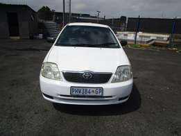 Toyota corrolla 1.4 Model 2006,5 Doors factory A/C And C/D Player