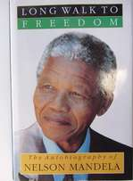 NELSON MANDELA Long Walk to Freedom Inscribed Edition